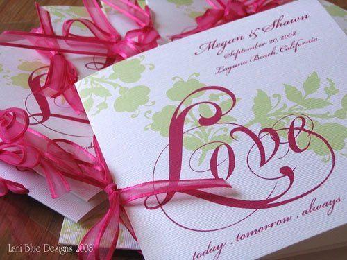 Tmx 1227922285103 Programs Sage Magenta LB Ventura wedding invitation