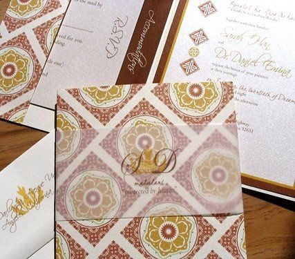Tmx 1227923144260 Sarah Shimmer Invites1 Ventura wedding invitation
