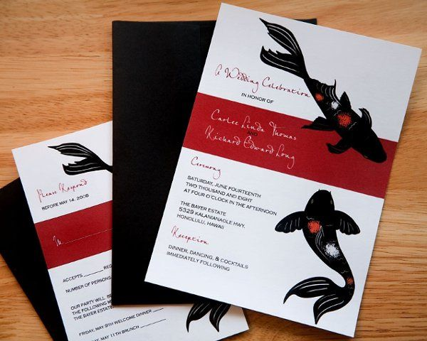 Tmx 1228779539518 Koi Etsy Ventura wedding invitation