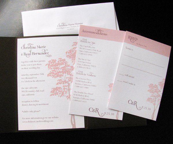 Tmx 1290560670364 Birchpocket3 Ventura wedding invitation