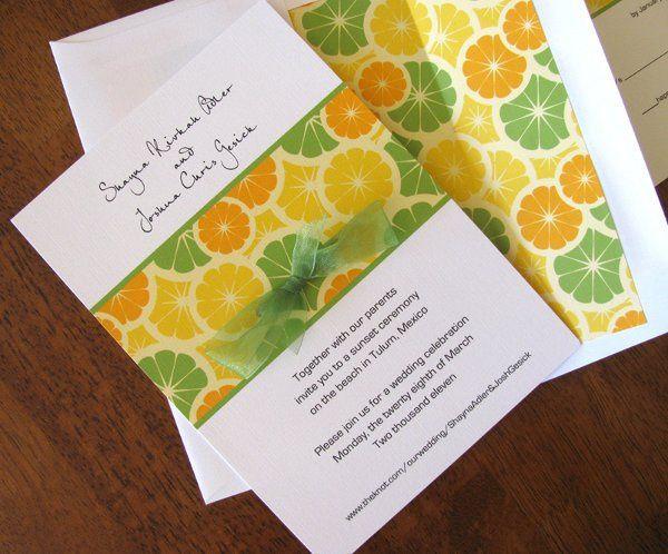 Tmx 1290560692083 Lemon1b Ventura wedding invitation