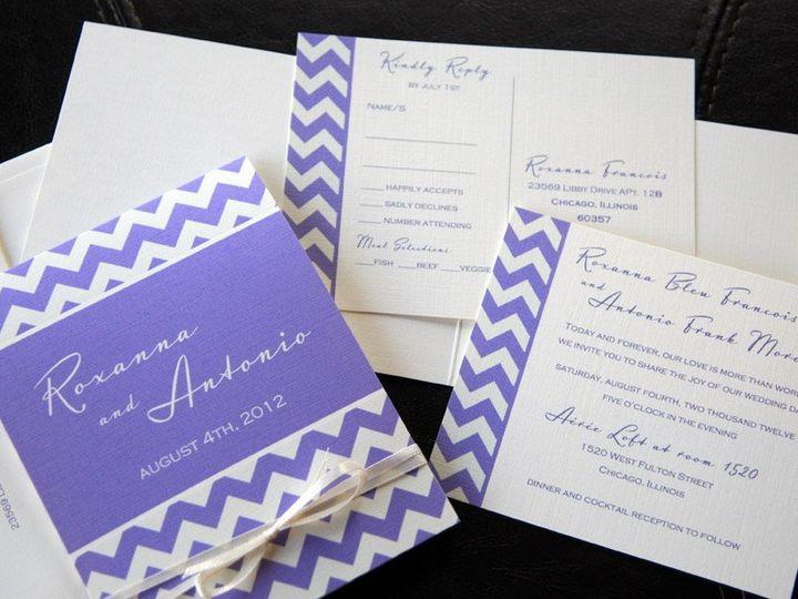 Tmx 1341598712142 Cheveronpattern2 Ventura wedding invitation