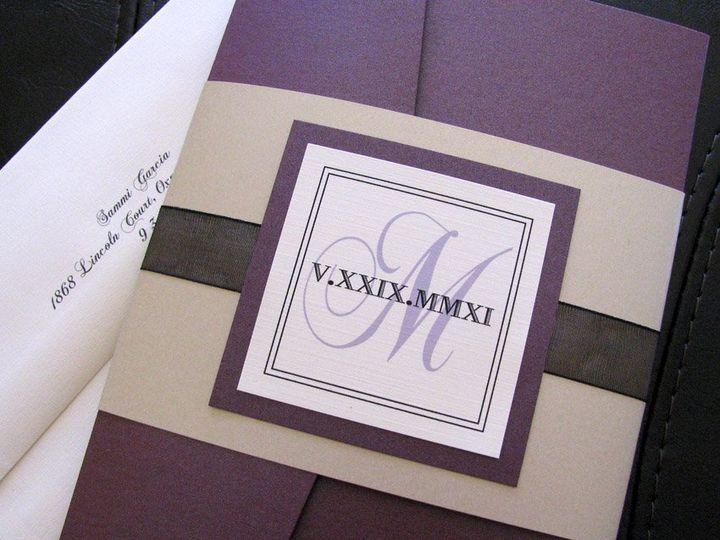 Tmx 1341598895194 Elegance1 Ventura wedding invitation