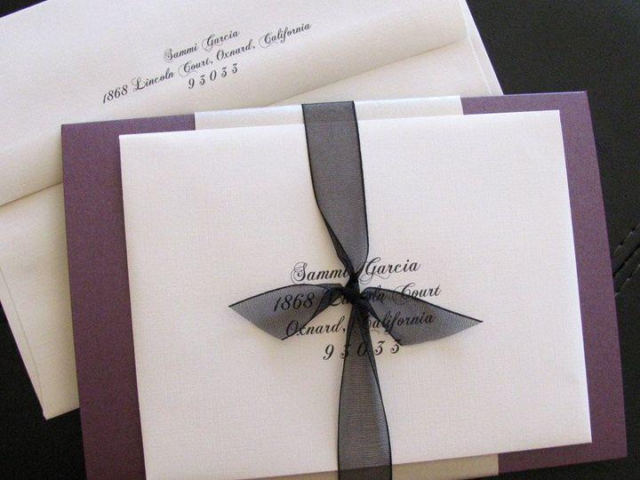 Tmx 1341598901604 Elegance3 Ventura wedding invitation