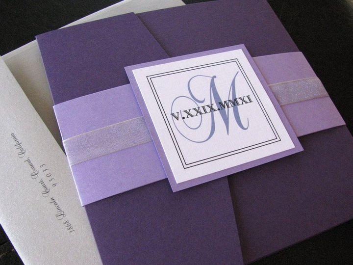 Tmx 1341598913082 EleganceSquare1 Ventura wedding invitation