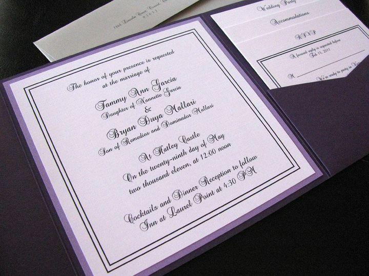 Tmx 1341598917059 EleganceSquare3 Ventura wedding invitation