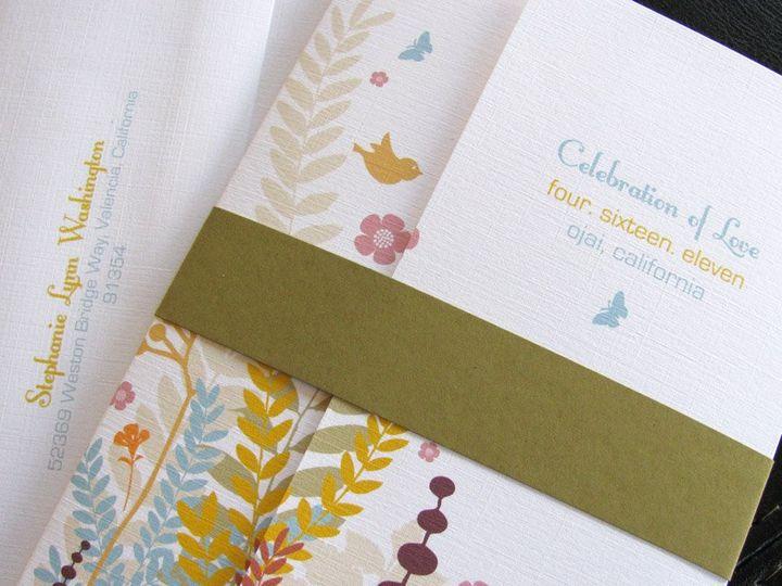 Tmx 1341598921209 GardenLove1 Ventura wedding invitation