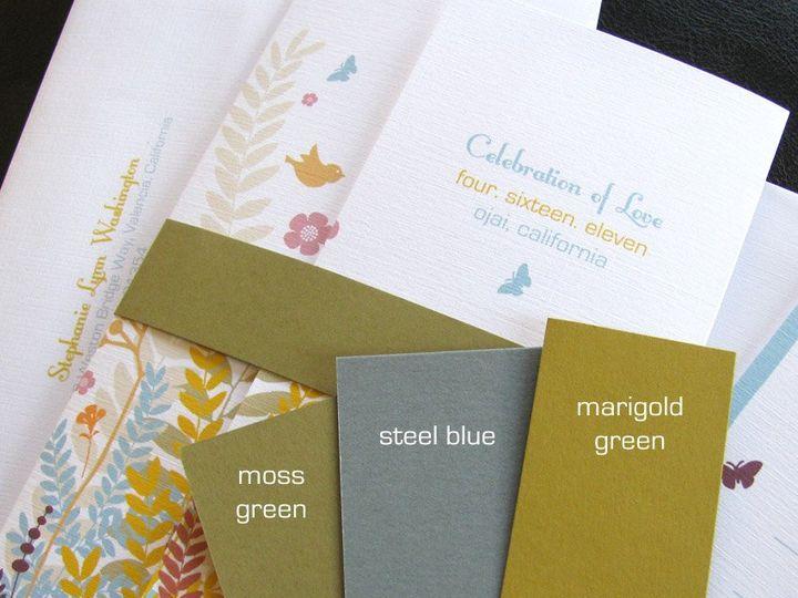 Tmx 1341598928824 GardenLove4 Ventura wedding invitation