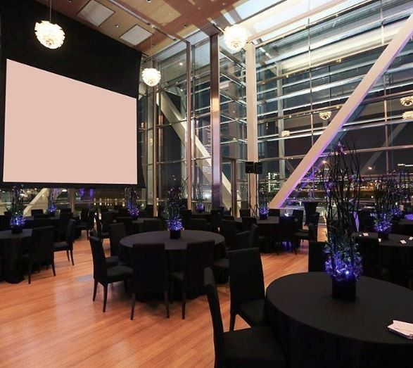 Insurance For Wedding Reception: Clinton Presidential Center