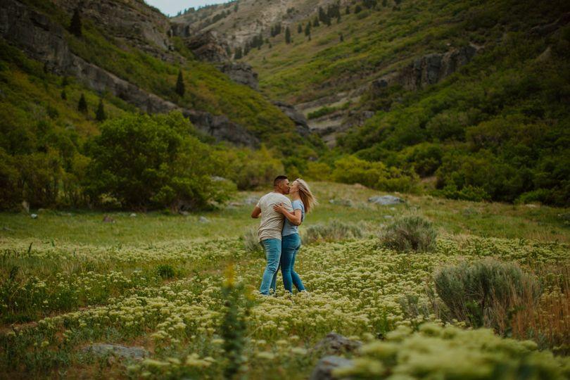 Provo Canyon Couple Session