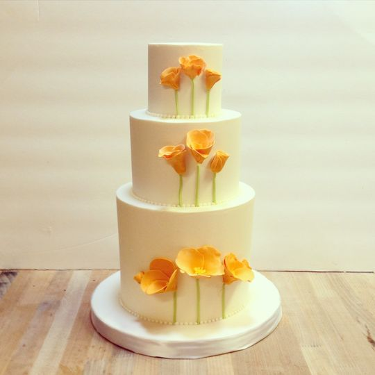 Franny\'s Cup & Saucer - Wedding Cake - Point Arena, CA - WeddingWire