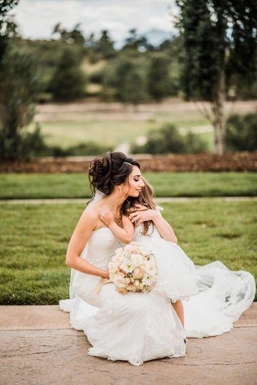 Bride&Flower Girl