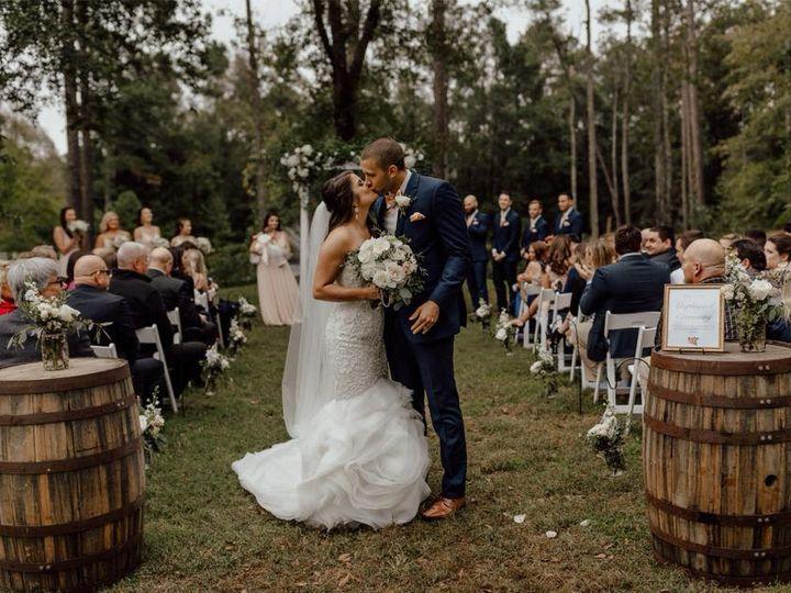 Tmx Qc Event Design Mariah Wedding Ceremony Kiss Rustic Wedding 51 1055617 V1 Fort Mill, SC wedding planner