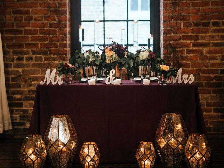 Tmx Qc Event Design Wedding Modern Sweatheart Table Purple Eucalyptus Candles Lanterns 2 51 1055617 Fort Mill, SC wedding planner