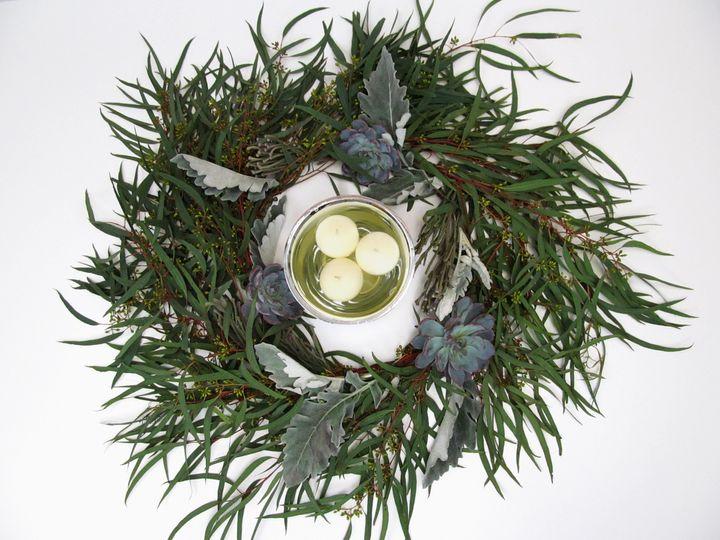 Tmx 1503345408250 Eucalyptuswreathfinal Watchung, New Jersey wedding florist