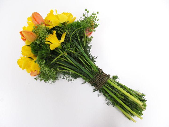 Tmx 1503345710542 Tulipdaffodilbouquet Watchung, New Jersey wedding florist