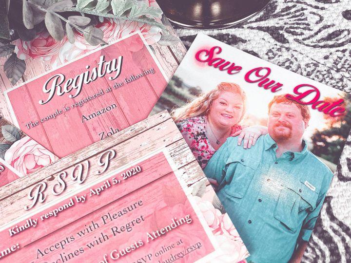 Tmx 2789b362 9ec4 4a3c Bfbb Bd7396a397fe Rw 1920 51 1985617 159867402943556 Matawan, NJ wedding invitation