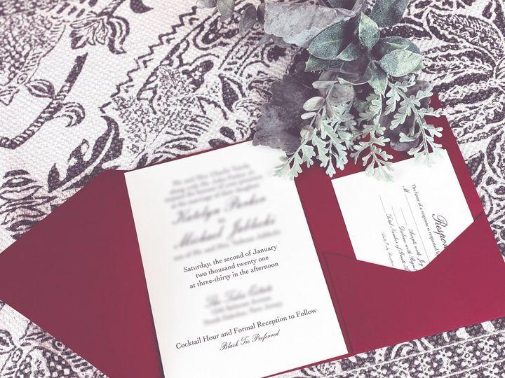 Tmx 5ca6d302 E6b9 4023 Bd00 E51b2ba84541 Rw 1920 51 1985617 159867403010693 Matawan, NJ wedding invitation