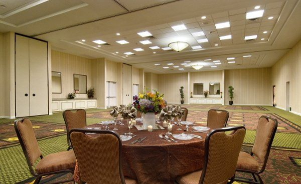 The Avondale Ballroom will accommodate up to 175 guests for wedding receptions with space for...
