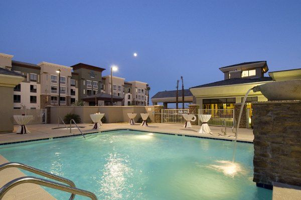 The pool area is ideal for small receptions or rehearsal dinners for up to 70 guests