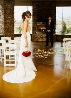 Wedding ceremony on Terrace