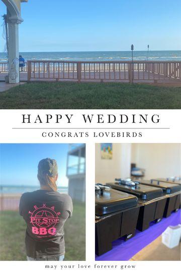 Galveston Beach Weddings