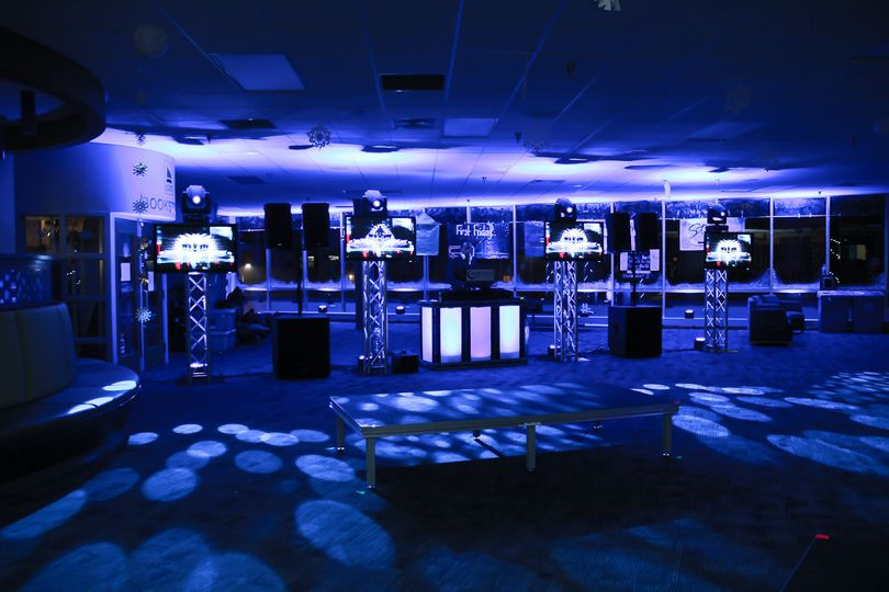 DJ, TVs, Intelligent Lighting