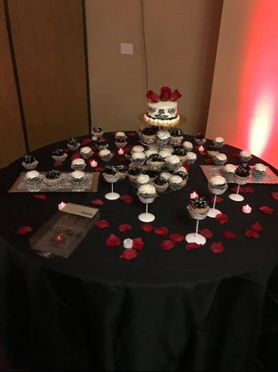 Pickett Reception dessert