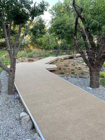 The Flower Garden Boardwalk