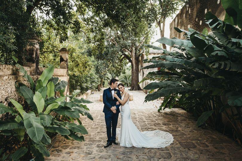 Wedding at Hacienda Yaxcopoil