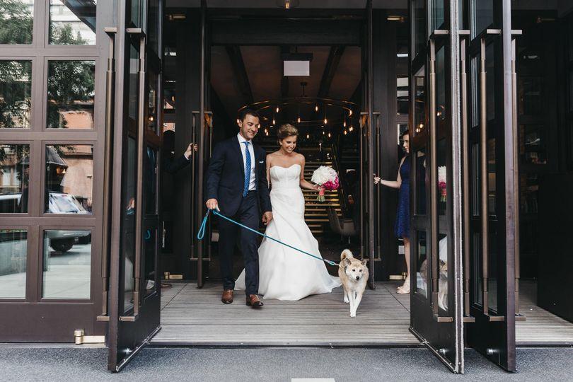 Destination wedding at Chicago