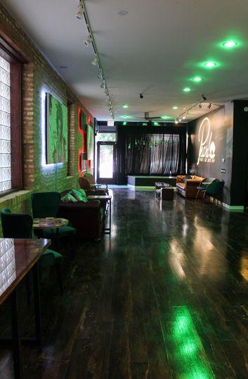 Main room lighting