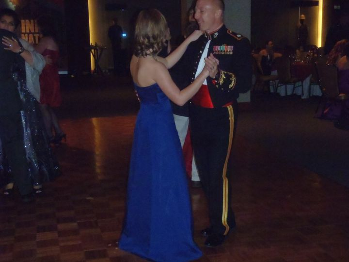 marines slow dancing