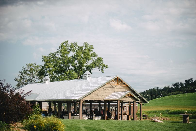Open sided barn