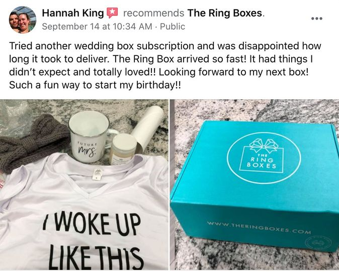 Review from one of our brides!