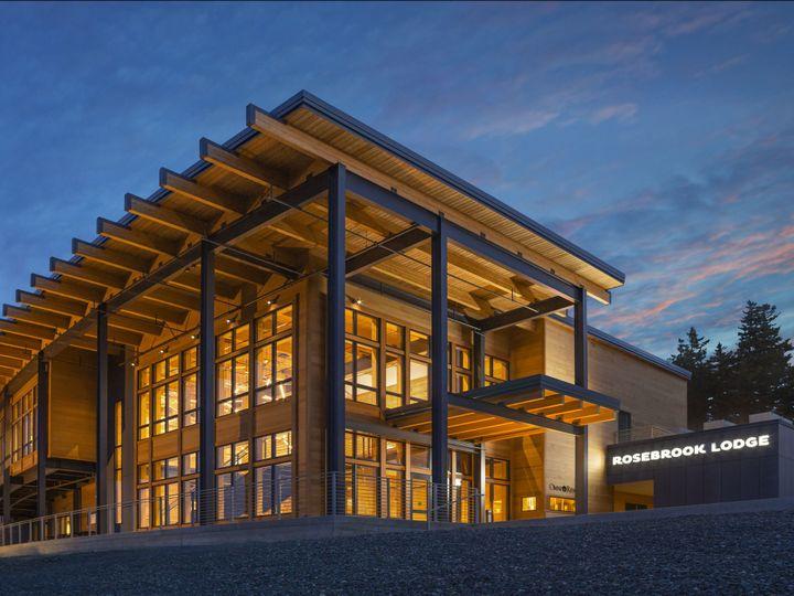 Tmx Rosebrook Lodge Exterior Dusk 51 371717 160918559325055 Bretton Woods, NH wedding venue