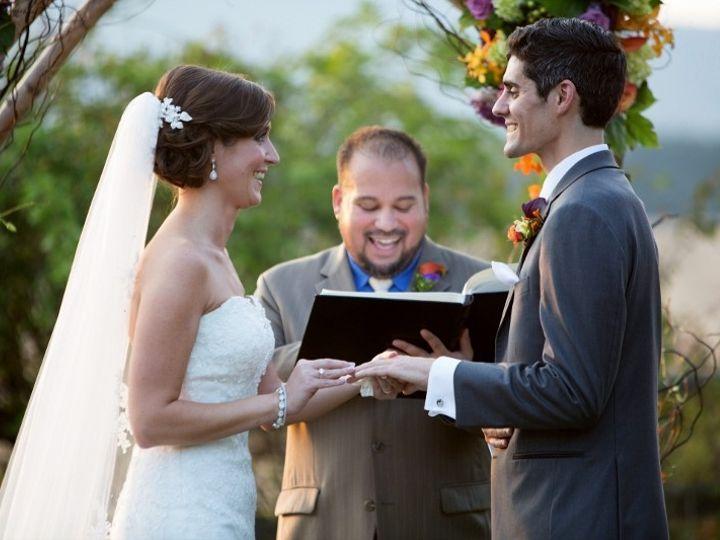 Tmx 1389365307692 Amanda And Greg At Altar 800x53 Nottingham wedding officiant