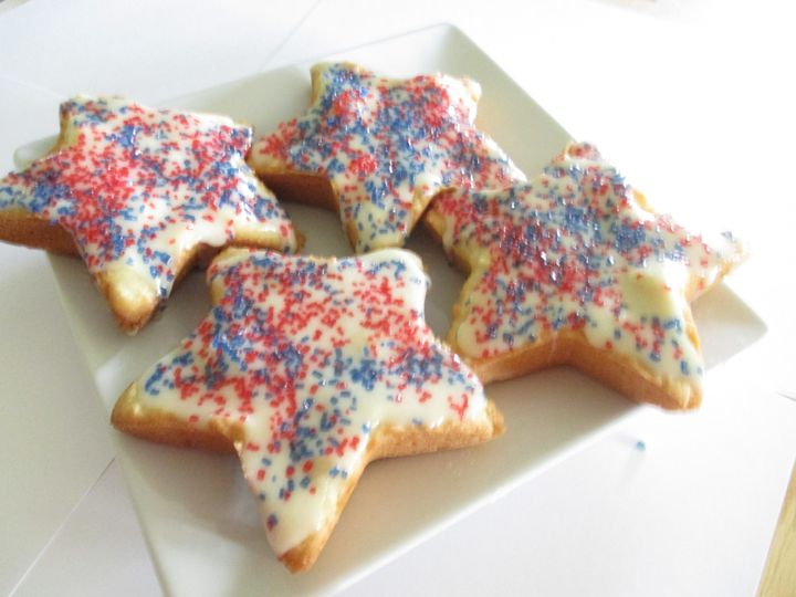 Sugar Cookies Star Shape