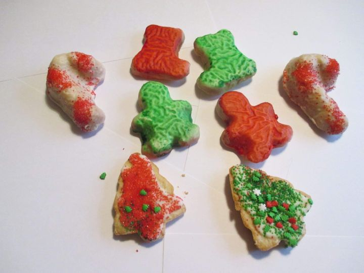 Sugar In Christmas Shapes