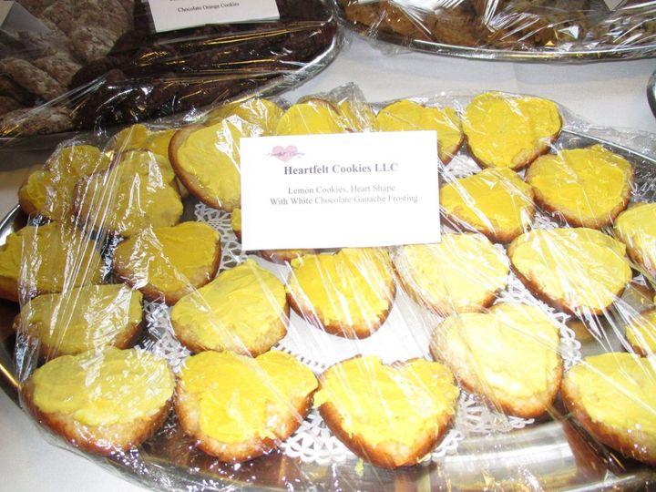 Tmx Lemon Cookies Heart Shape With White Chocolate Ganache Frosting 51 1952717 158594210645114 Farmington, ME wedding favor