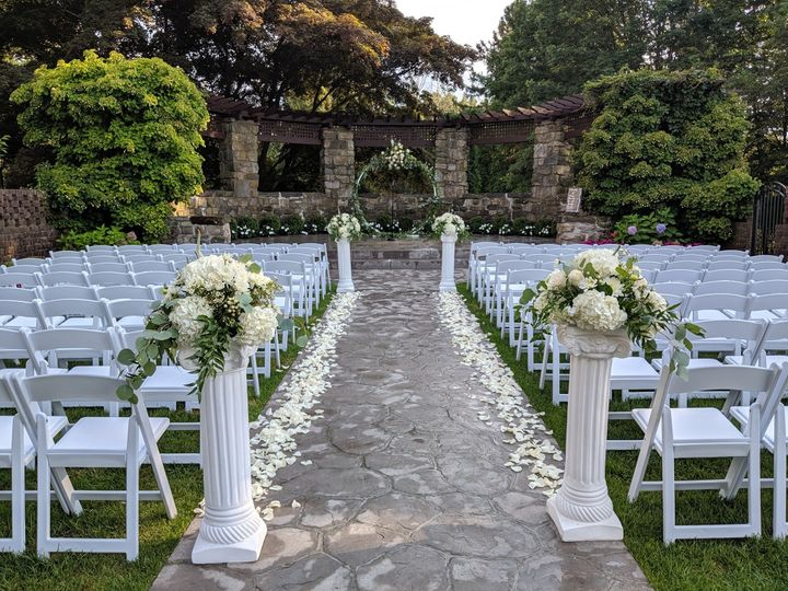 Aisle design with Arch