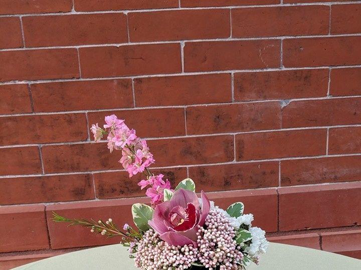 Tmx Pink 4inch Vased Centerpiece 51 923717 1572219941 New Windsor, NY wedding florist