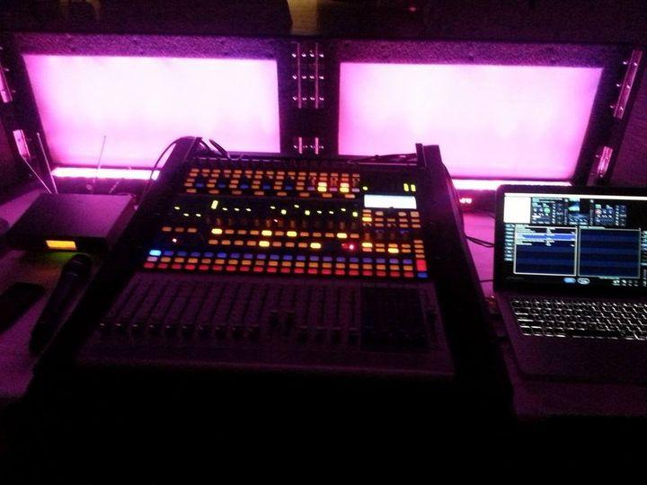 DJ's mixer