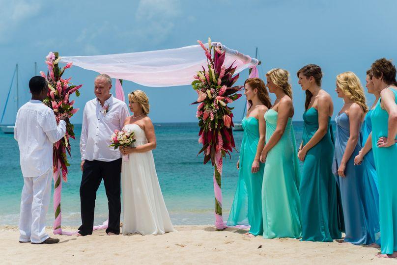 st lucia beach wedding 51 1054717