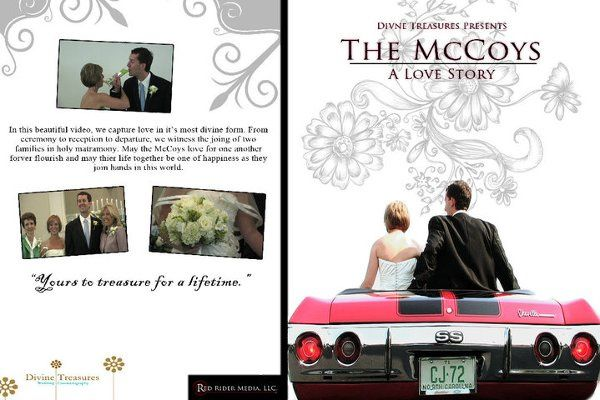 The McCoy custom graphic DVD cover.