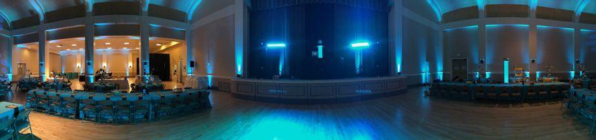 Blue lighting