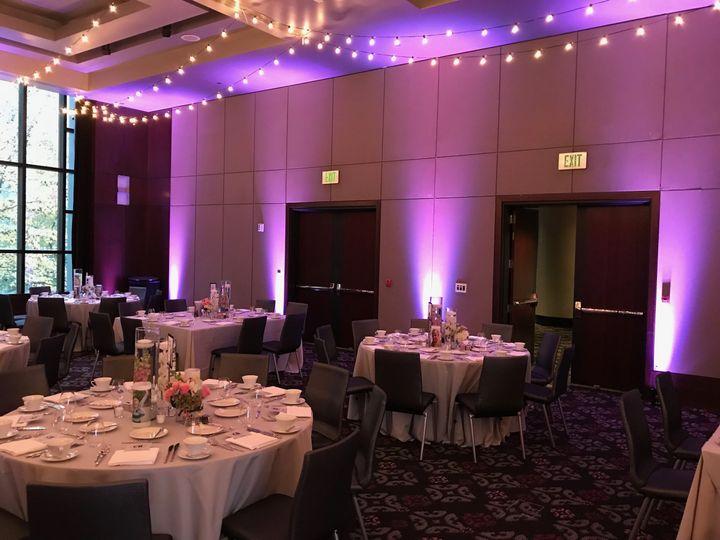 Reception uplights