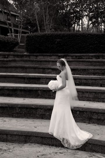 Beautiful bridal in the amphitheater.