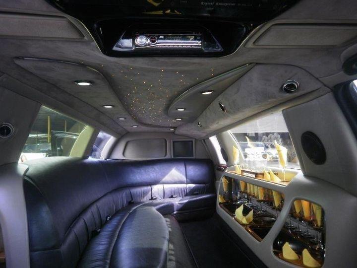 Black Limo interior