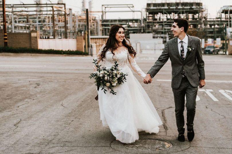 Fun Los Angeles wedding